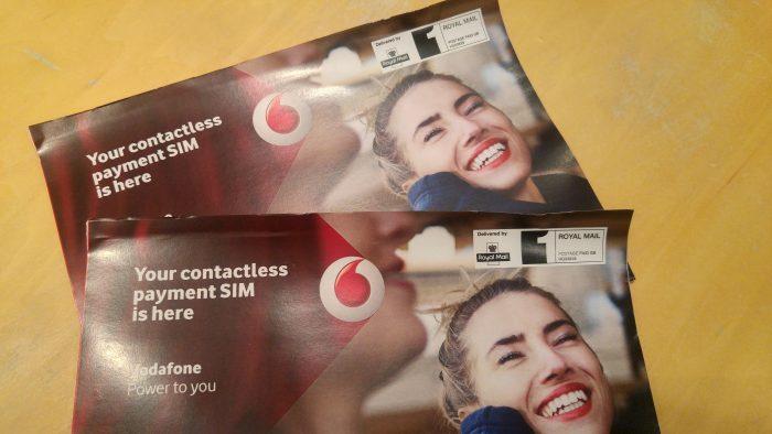 Carteira Vodafone com PayPal