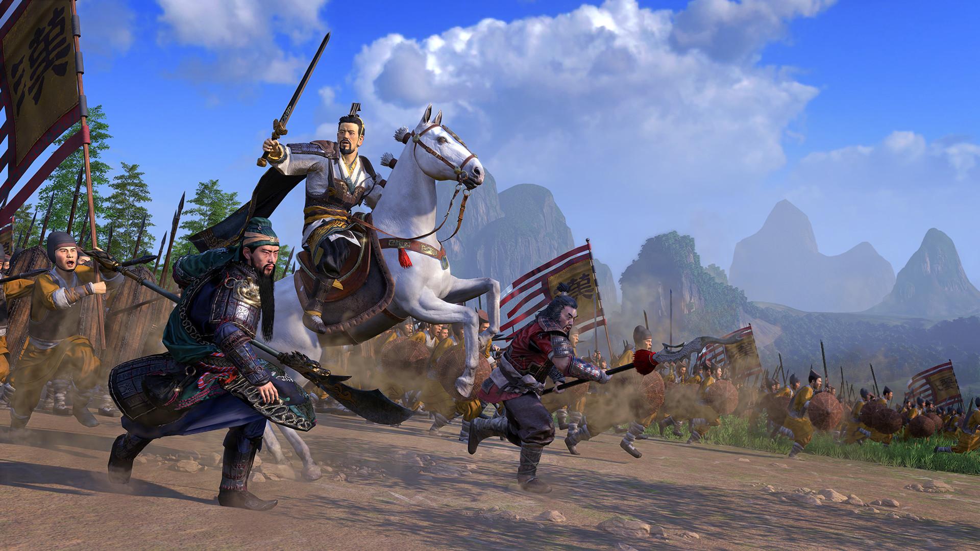 Conteúdo pós-lançamento detalhado para Total War: Three Kingdoms