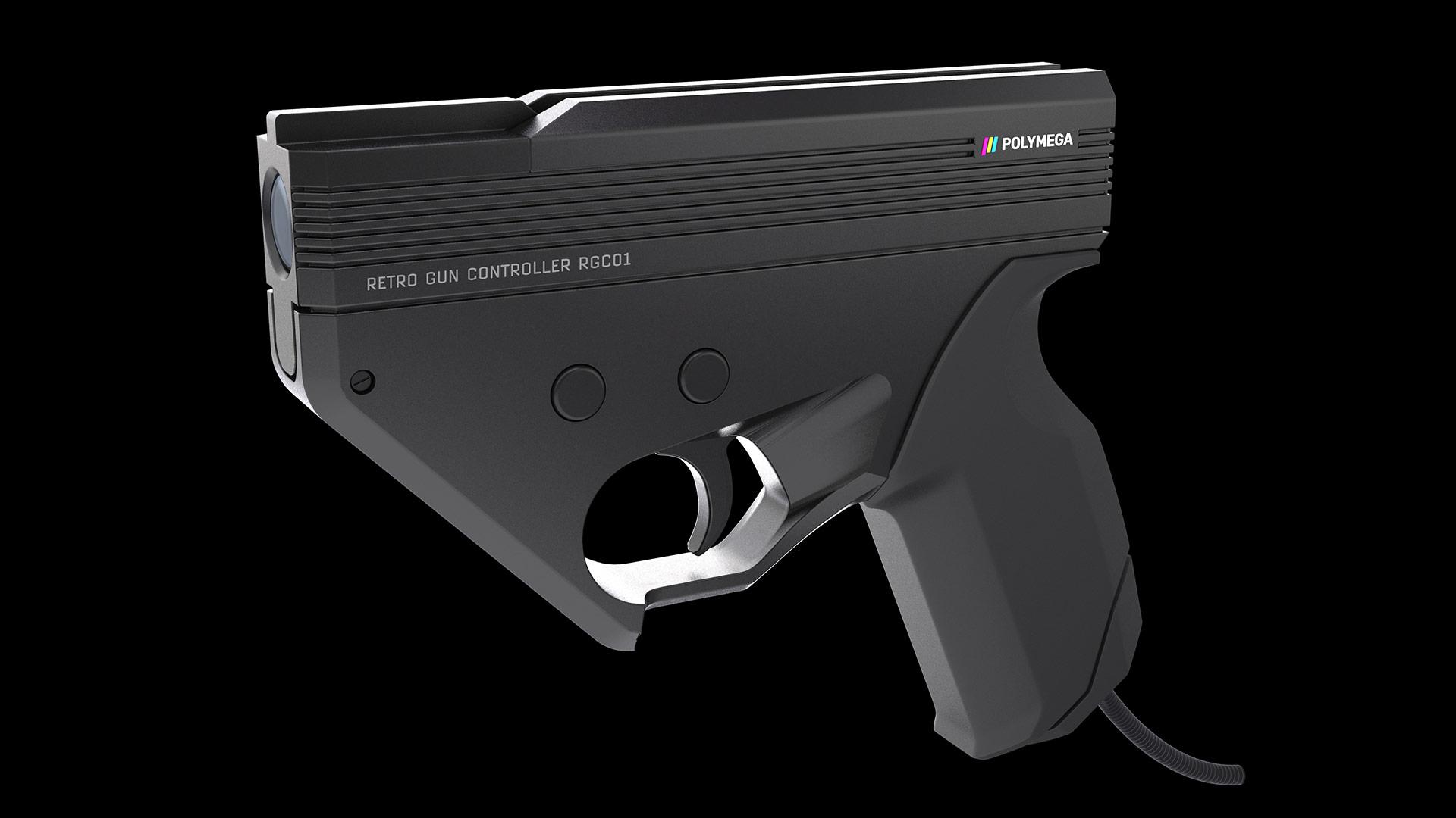 Controlador Light Gun anunciado para o console Polymega