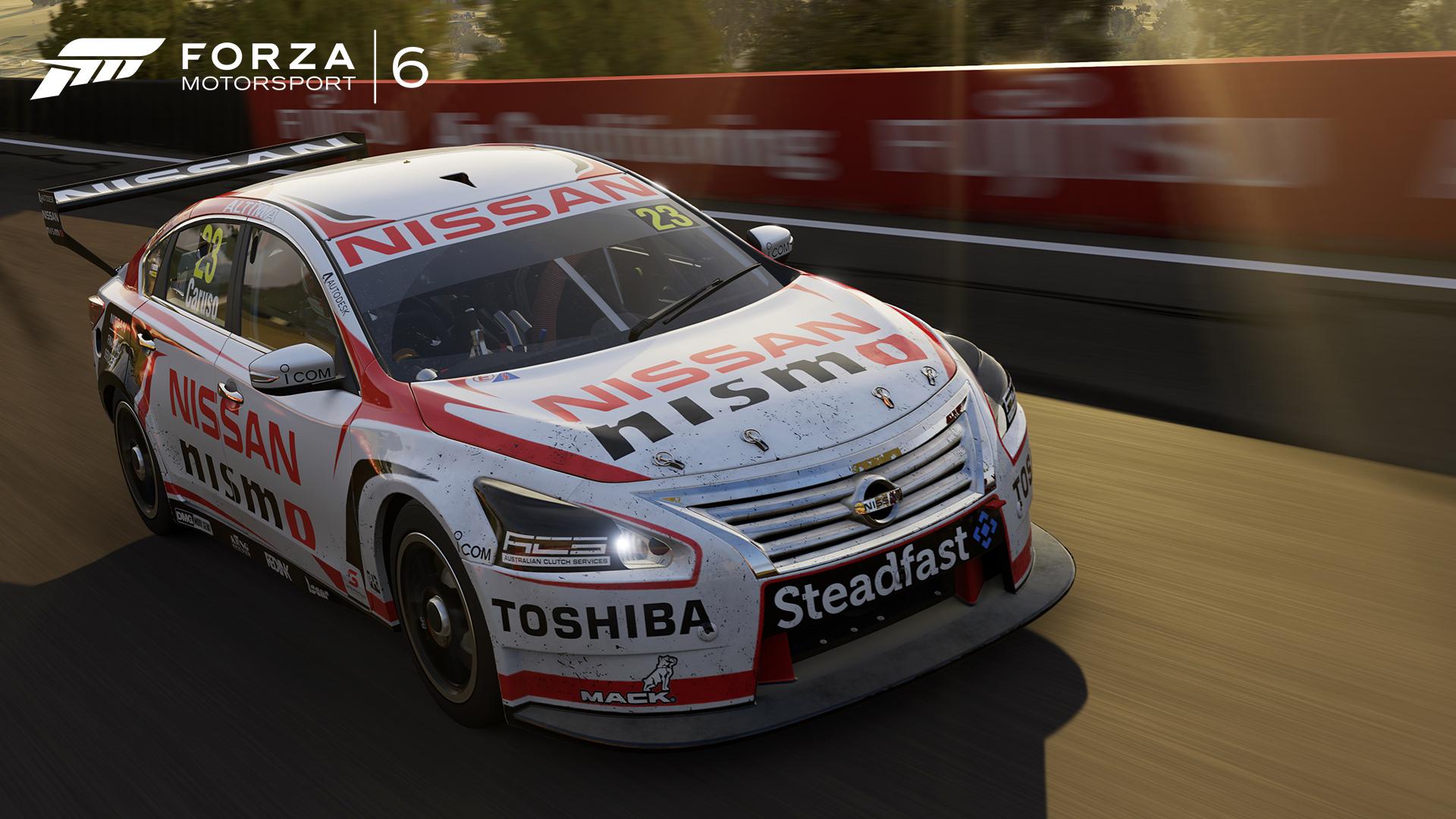 Corra para baixo com V8 Supercars Australia no Forza Motorsport ...