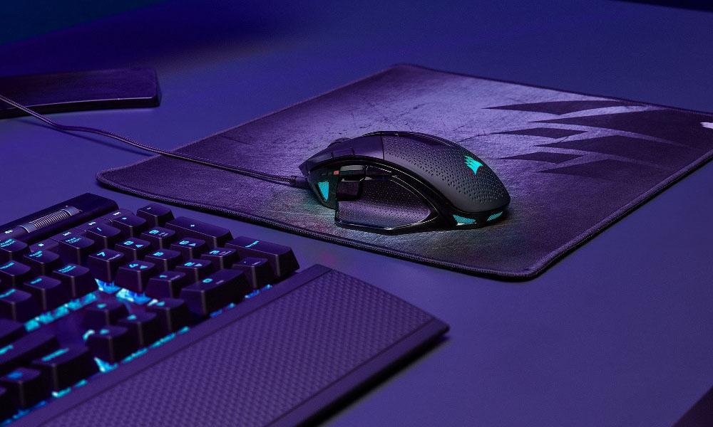 Corsair lança novos ratos NightSword RGB e M55 RGB Pro Gaming