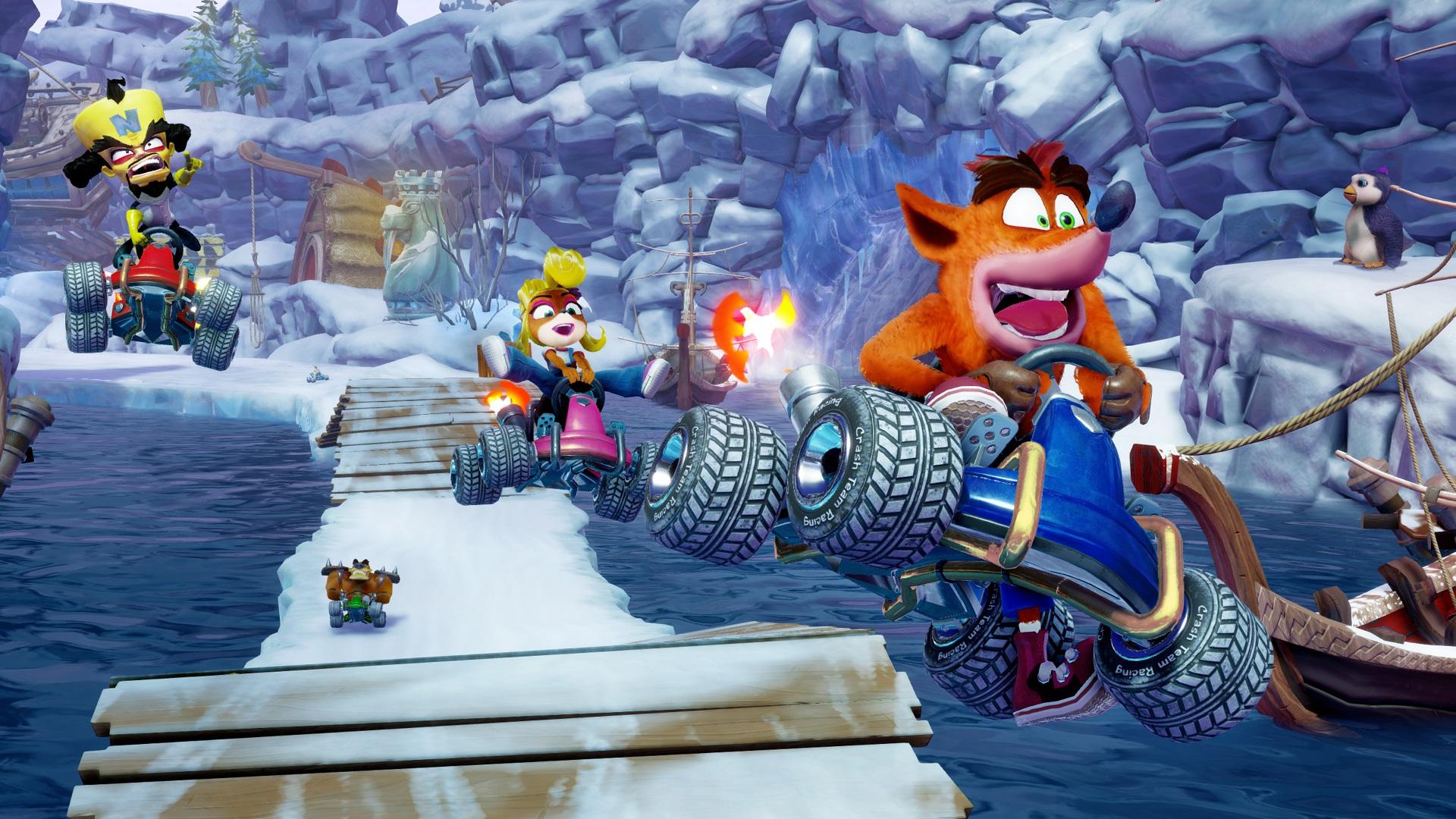Crash Team Racing Nitro-Fueled anunciado para PS4, Xbox One e Switch