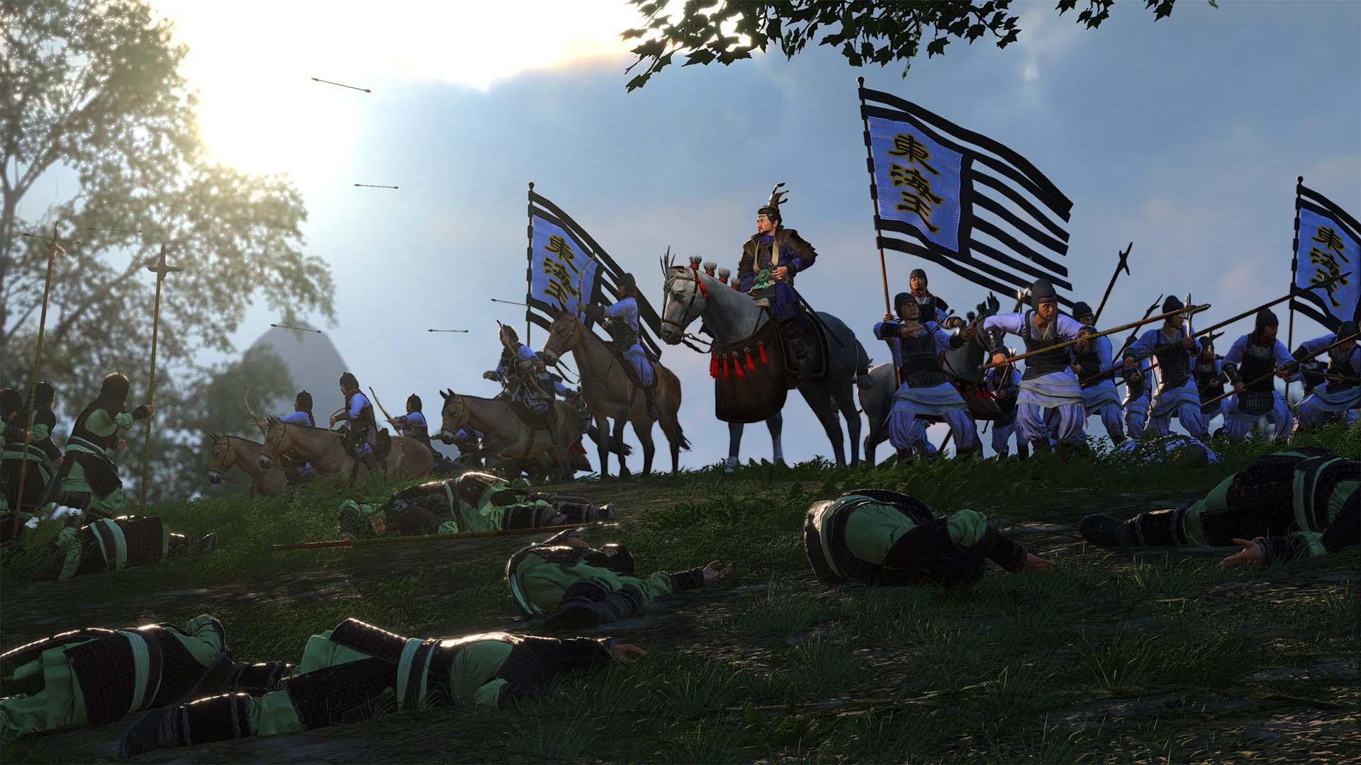 DLC de Oito Princes Story anunciado para Total War: Three Kingdoms