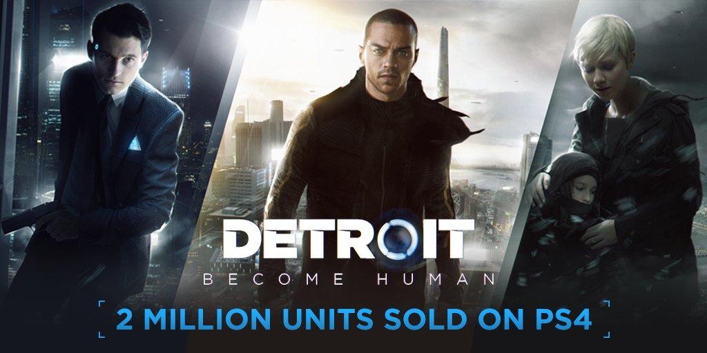 Detroit: Torne-se humano vende mais de dois milhões de cópias