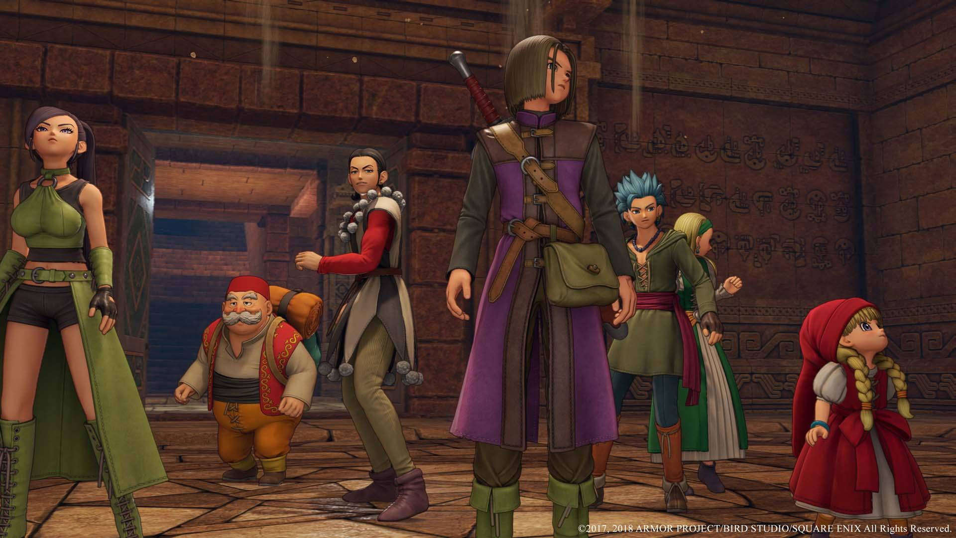 Dragon Quest XI Update 1.01 já está disponível