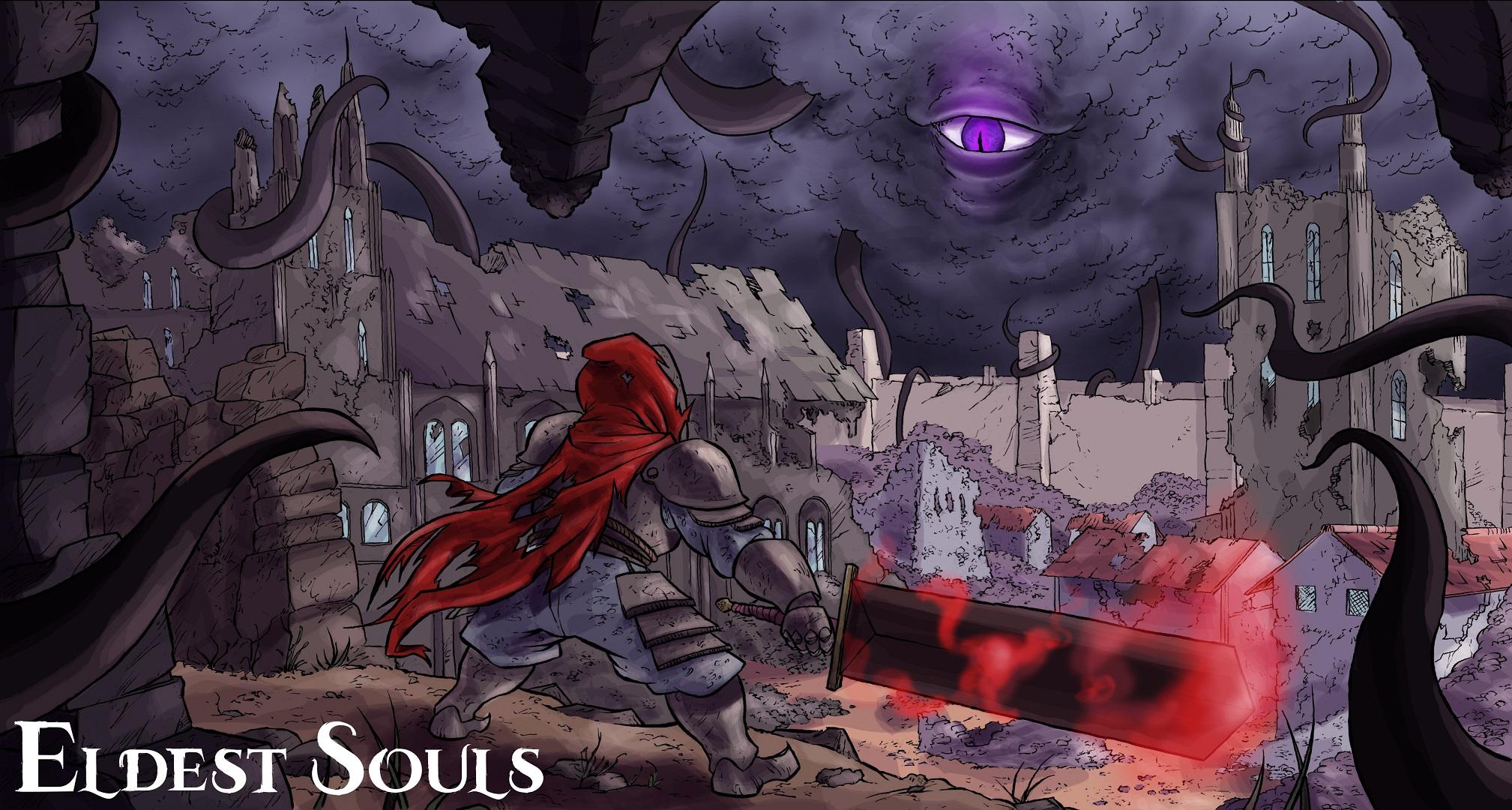 Eldest Souls E3 2019 Visualização prática