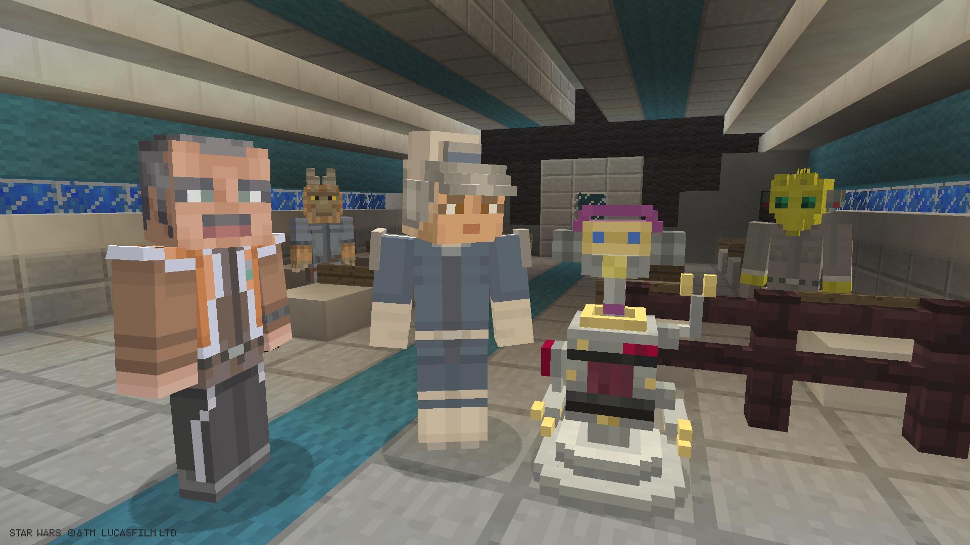 Expanda seu universo Minecraft com o pacote de skins Star Wars Rebels para ...