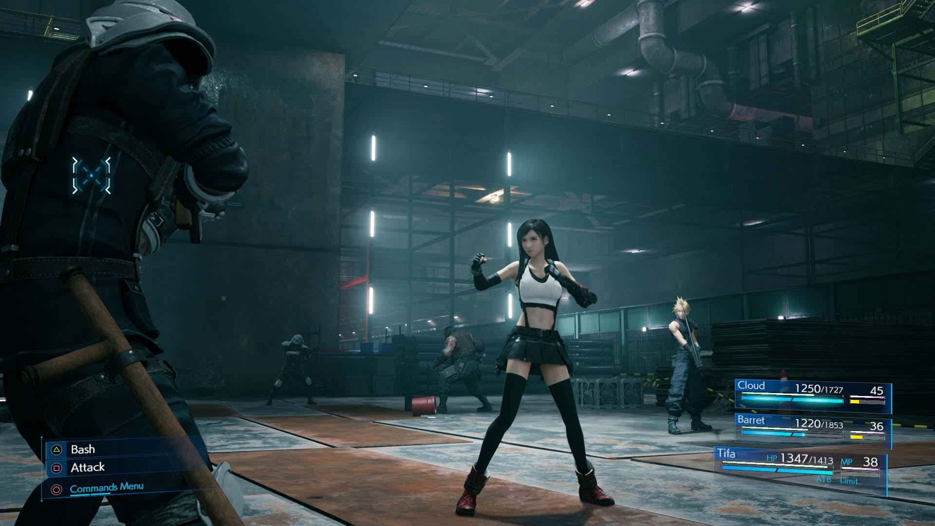 Final Fantasy VII Remake Primeira Visualização Prática