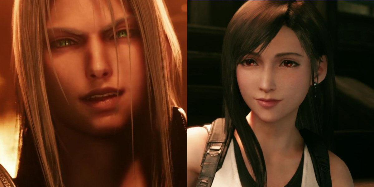 Final Fantasy VII Remake Trailer completo da E3 2019, Tifa e Sephiroth, ...