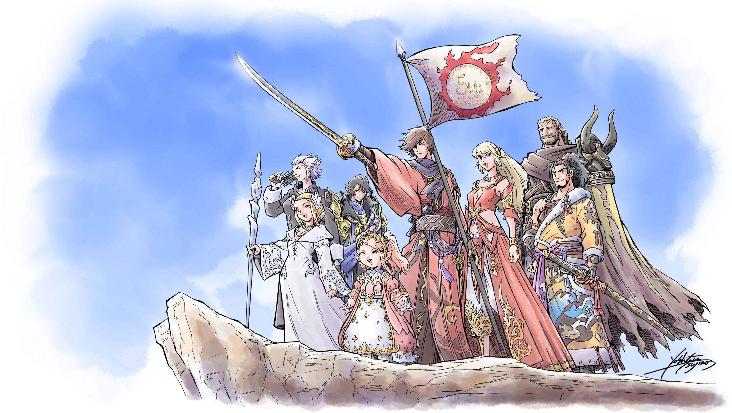 Final Fantasy XIV lidera 14 milhões de jogadores cumulativos