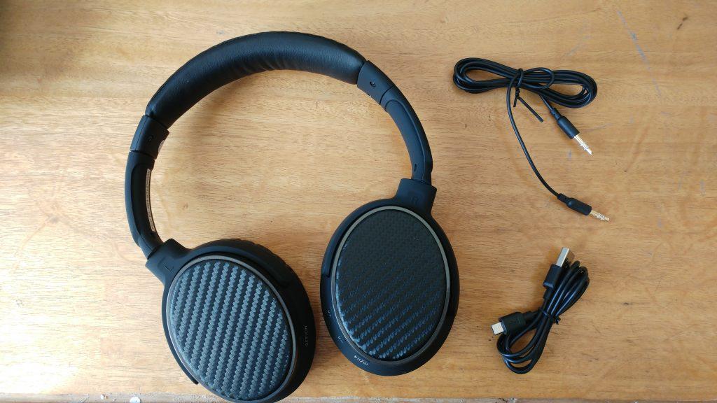 Fones de ouvido com cancelamento de ruído sem fio Topdon TP550 - Revisão