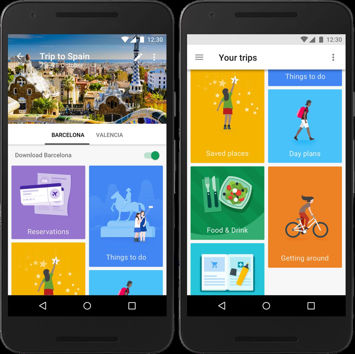 Google Trips - Um novo aplicativo para classificar todas as suas viagens ...