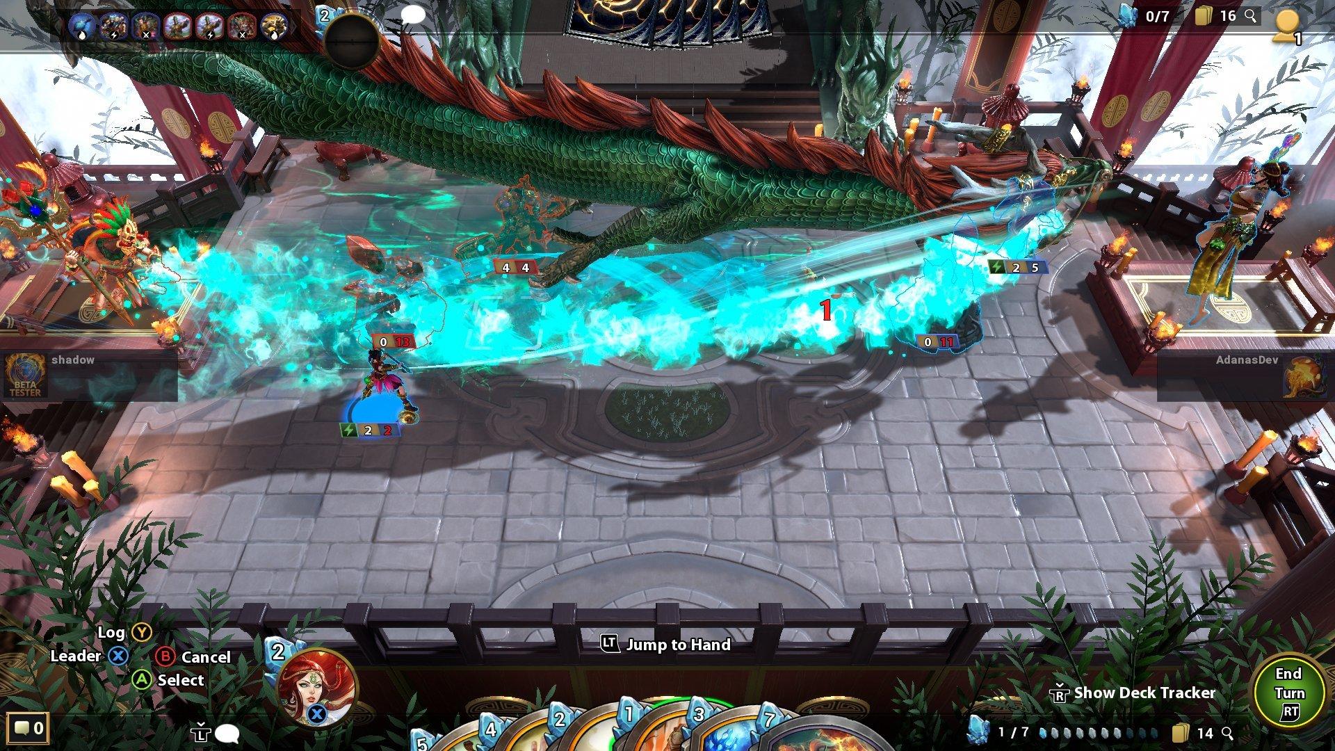 Mão dos deuses Screenshot