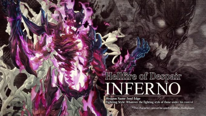Inferno confirmado para Soulcalibur VI