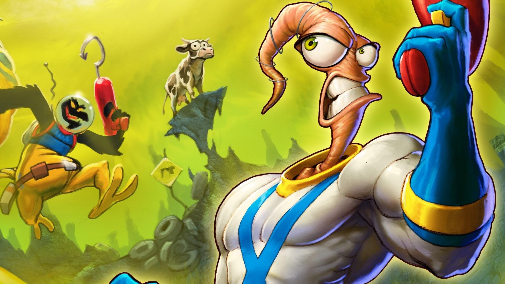 Interaja com o leilão dos IPs clássicos Earthworm Jim, Clay Fighter, Boogerman, ...
