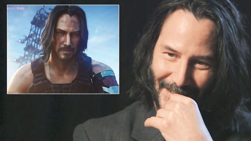 Keanu Reeves: videogames não precisam de atores de Hollywood para serem legitimados
