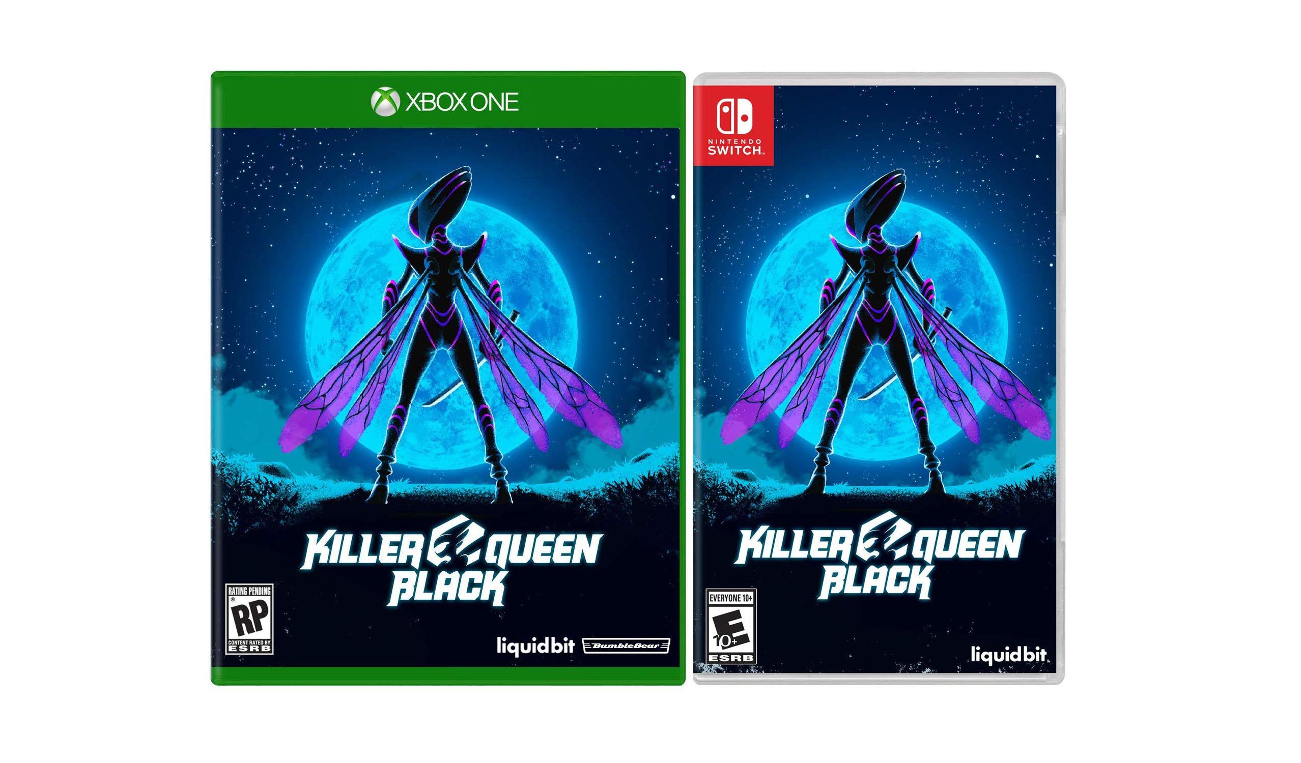 Killer Queen Black recebe um lançamento físico no Xbox One, Switch