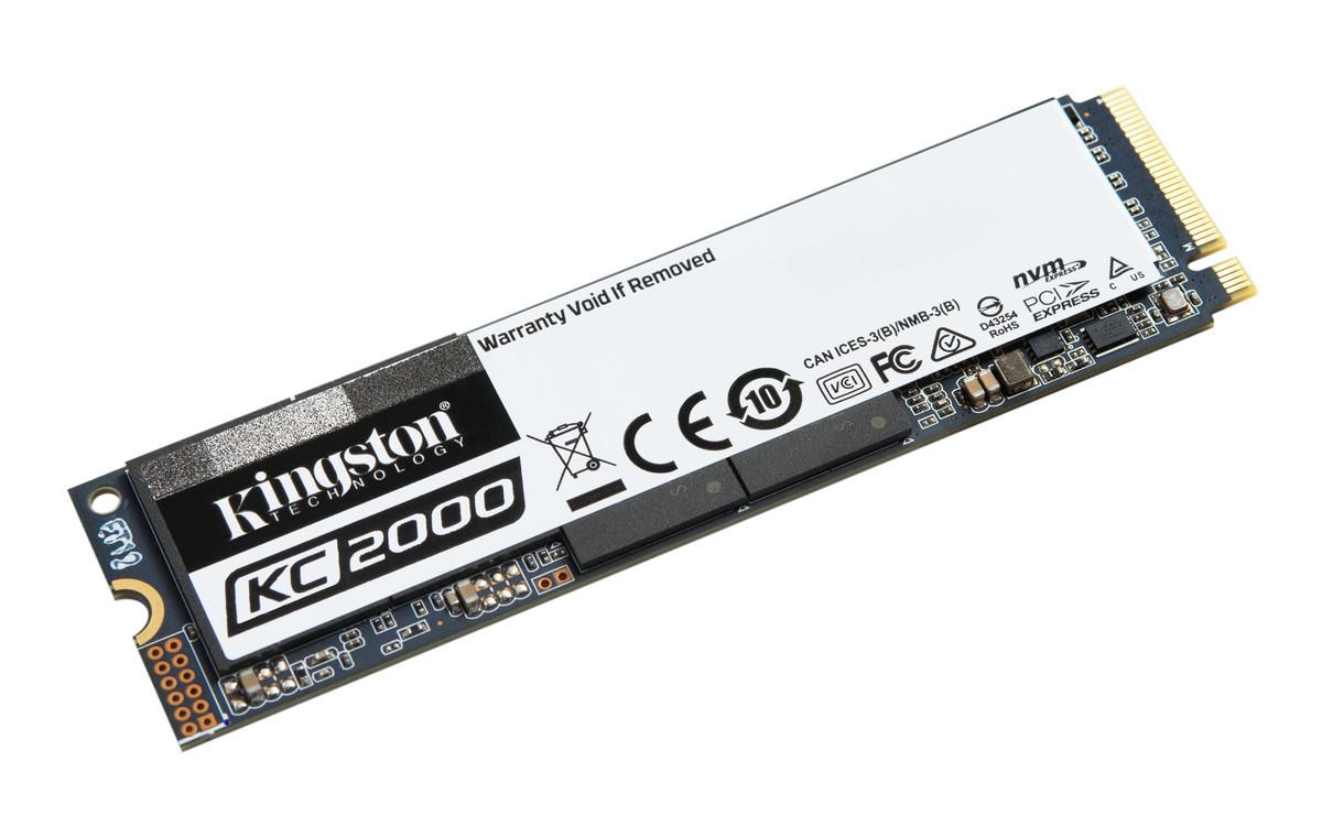 Kingston apresenta seu mais novo SSD KC2000 NVMe PCIe