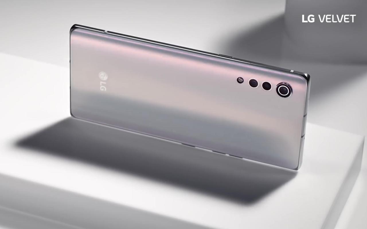 LG Velvet design completamente revelado, juntamente com alguns recursos