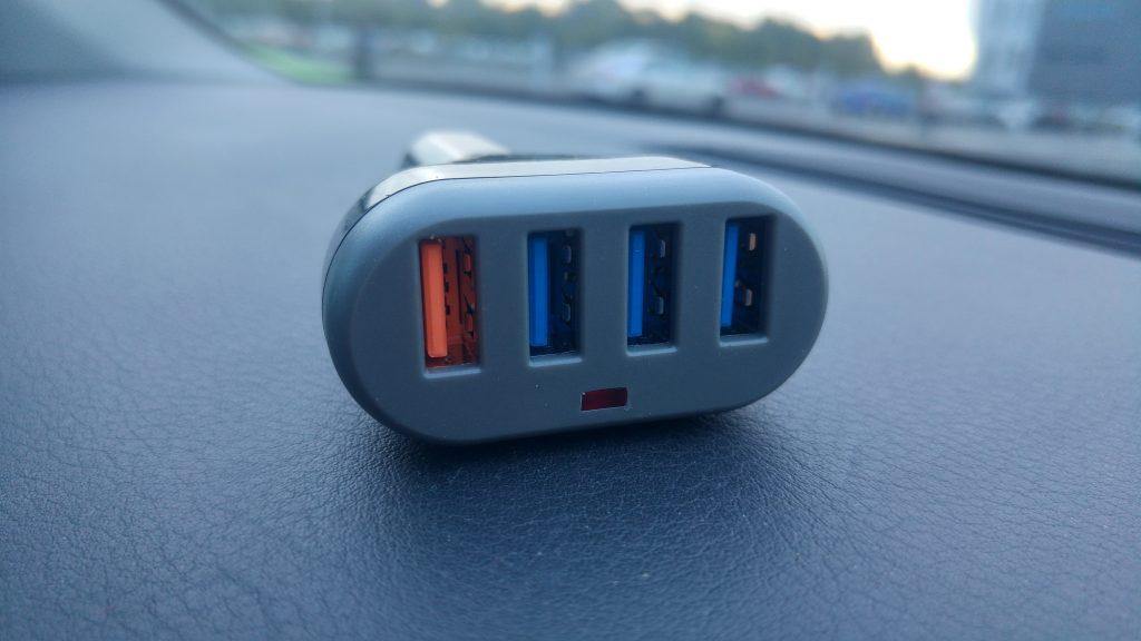Lumsing 4-Port USB Car Charger - Revisão