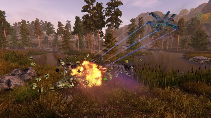 MMO Custom Vehicle Shooter Steamcraft lança 18 de abril