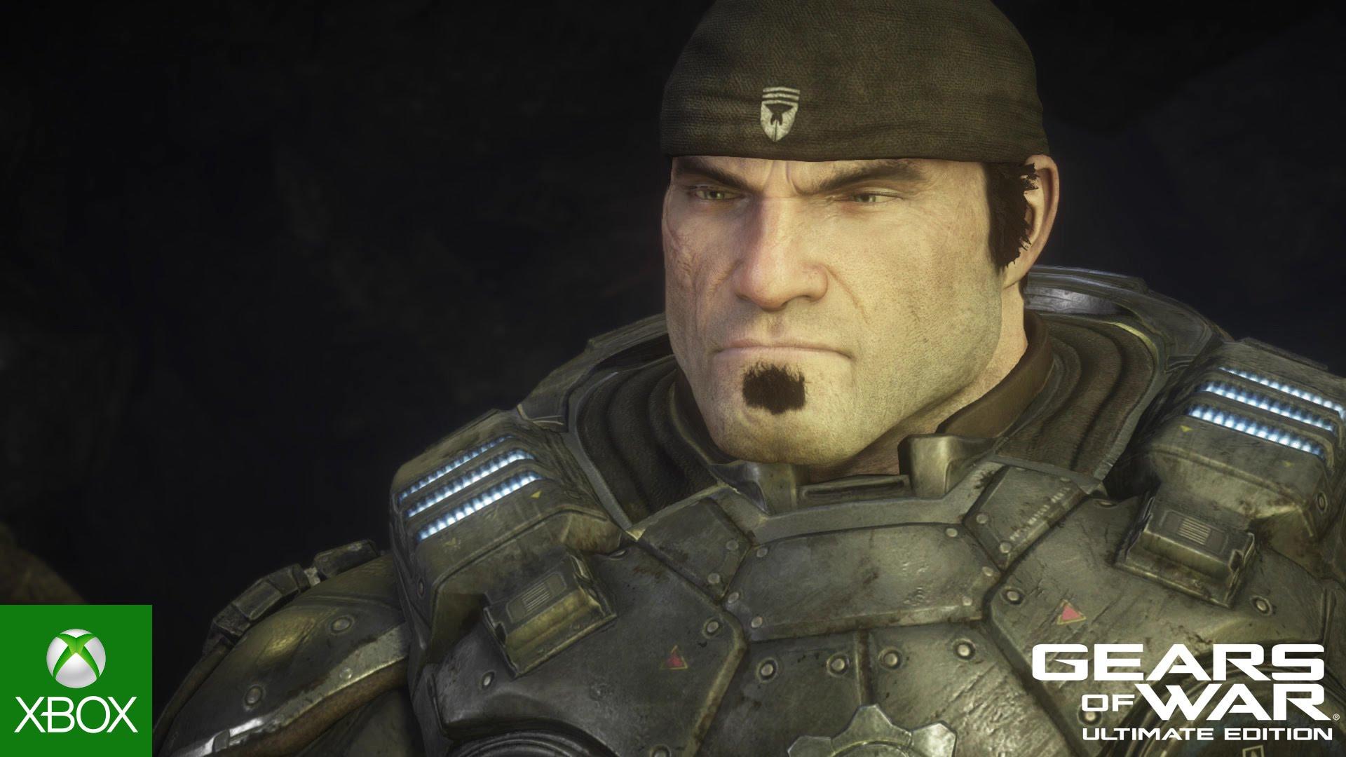 Marcus Fenix sobe em Gears of War: Ultimate Edition