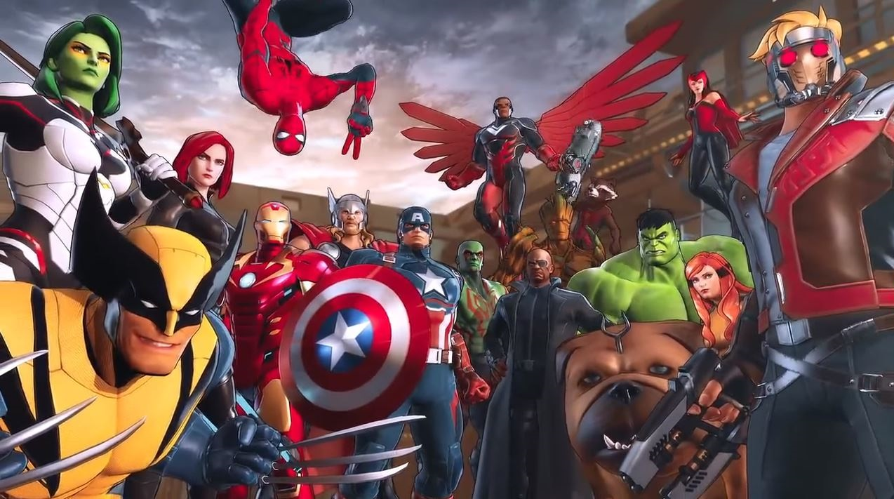 Marvel Ultimate Alliance 3: The Black Order anunciada para Switch