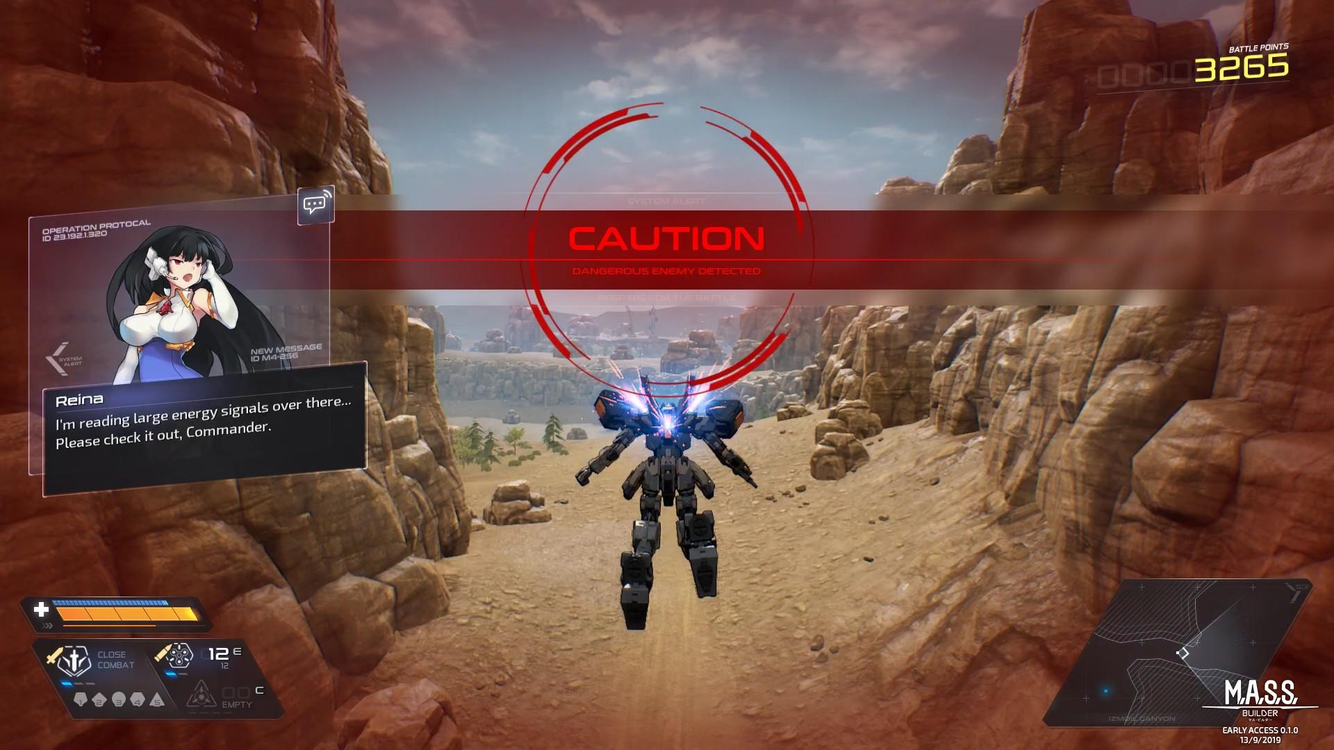 Mecha Action RPG MASS Builder lança 13 de setembro