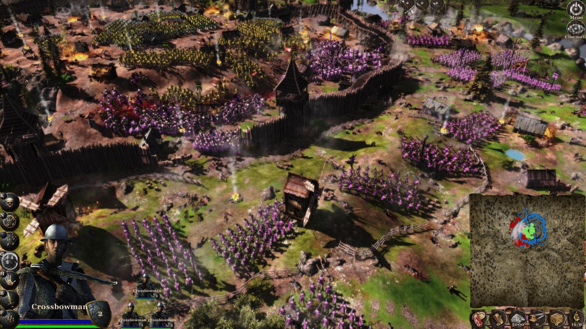 Medieval RTS Kingdom Wars recebe nova atualização e venda