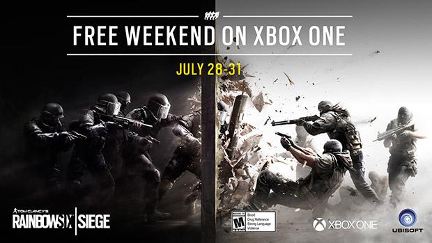 Membros do Xbox Live Gold podem jogar Rainbow Six Siege grátis ...
