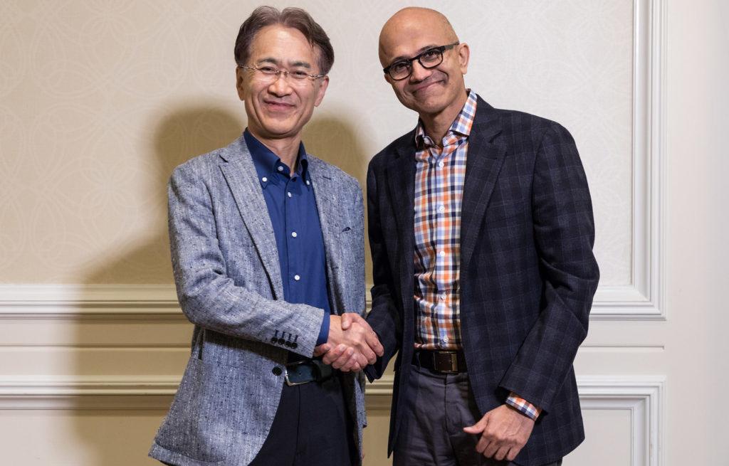 Microsoft e Sony anunciam parceria estratégica para jogos em nuvem e IA
