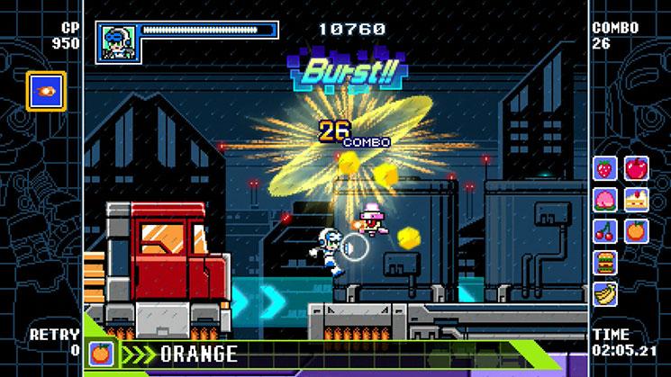 Mighty Gunvolt Burst recebe uma porta para PC em 31 de julho