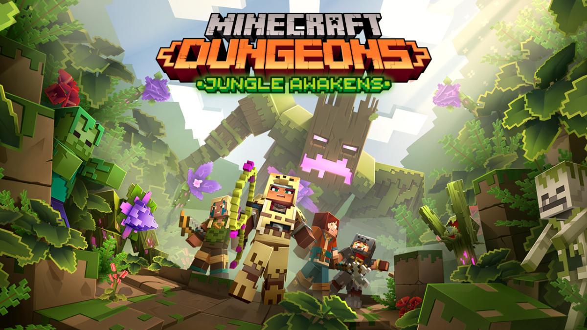 Minecraft Dungeons 'Jungle Awakens' será lançado em julho, Dev trabalhando ...