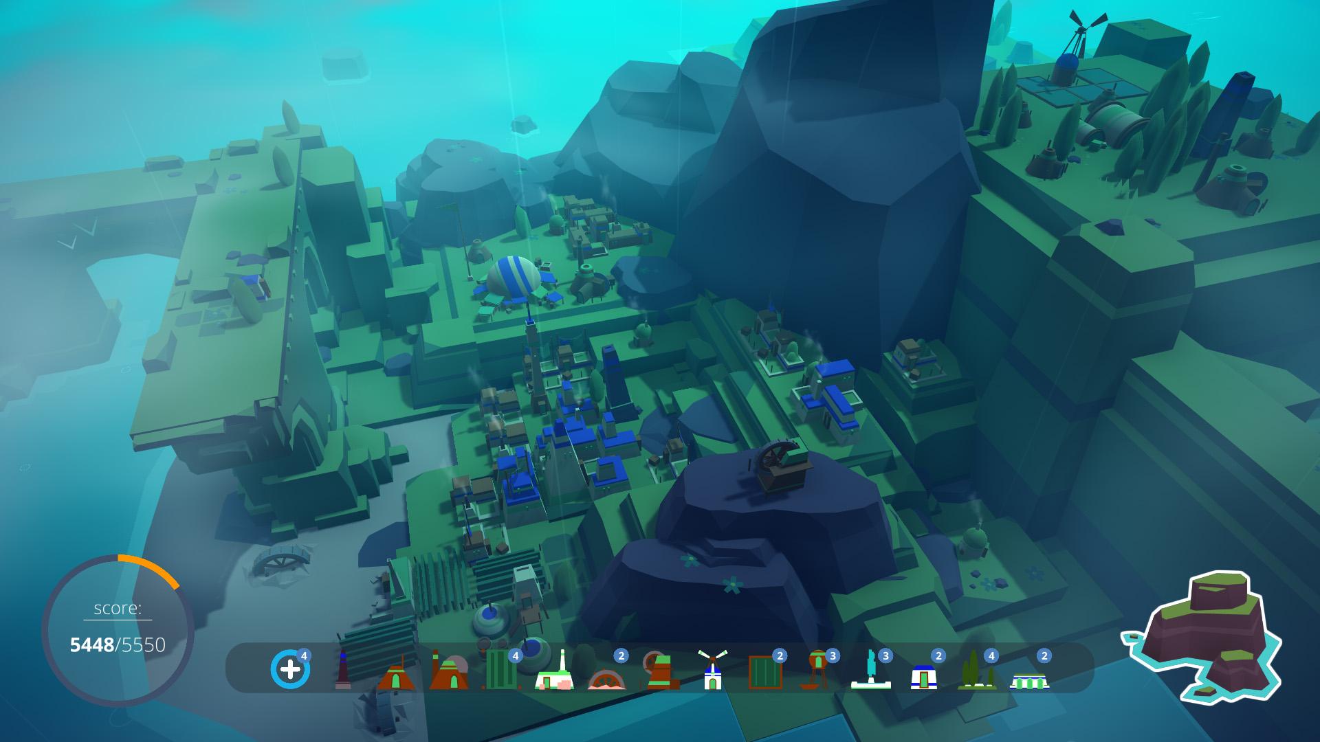 "Minimalista City Builder ""Islanders"" obtém suporte para Mac e Linux, modo sandbox"
