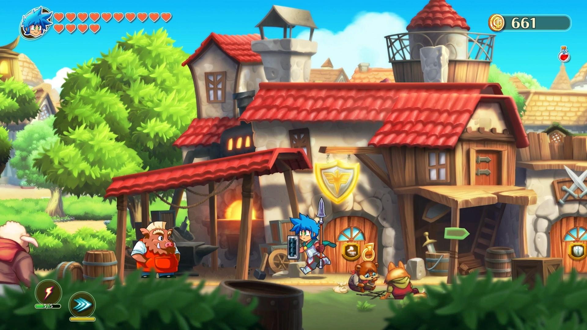 Monster Boy e o Reino Amaldiçoado são lançados para PC em junho ...