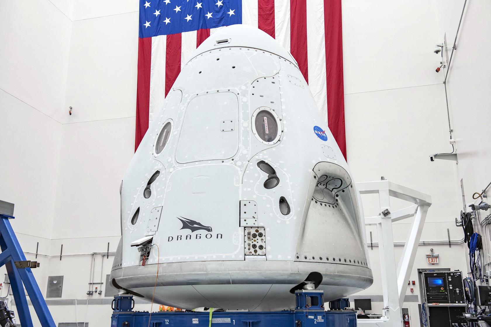NASA e SpaceX definem a data do lançamento histórico do Crew Dragon