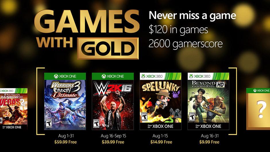 Não lute contra o desejo de jogar jogos com ouro em agosto