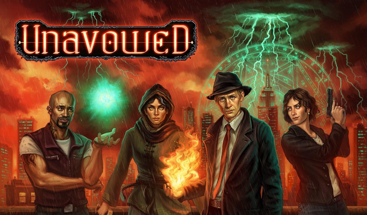 Nicho em destaque - Unavowed: Throwback Supernatural Adventure