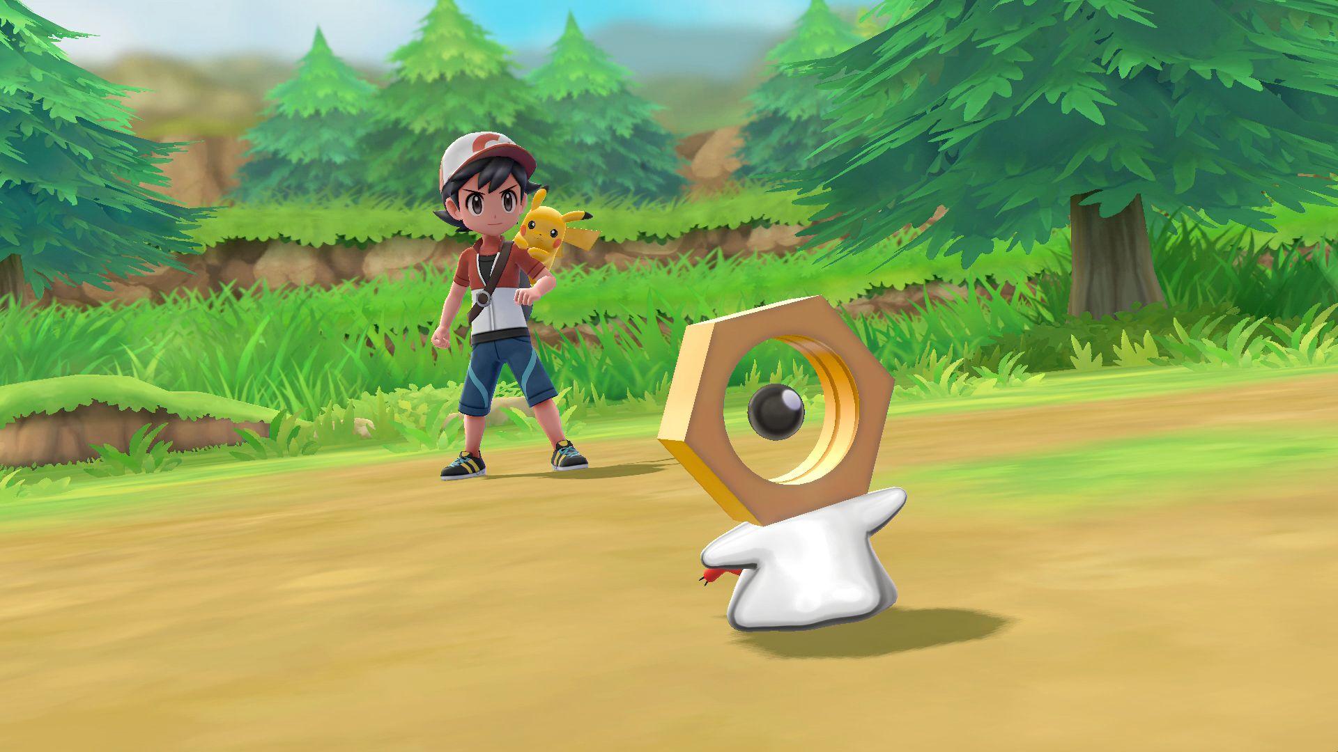 "Novo Pokémon Mítico ""Meltan"" Revelado para Pokemon Let's Go"