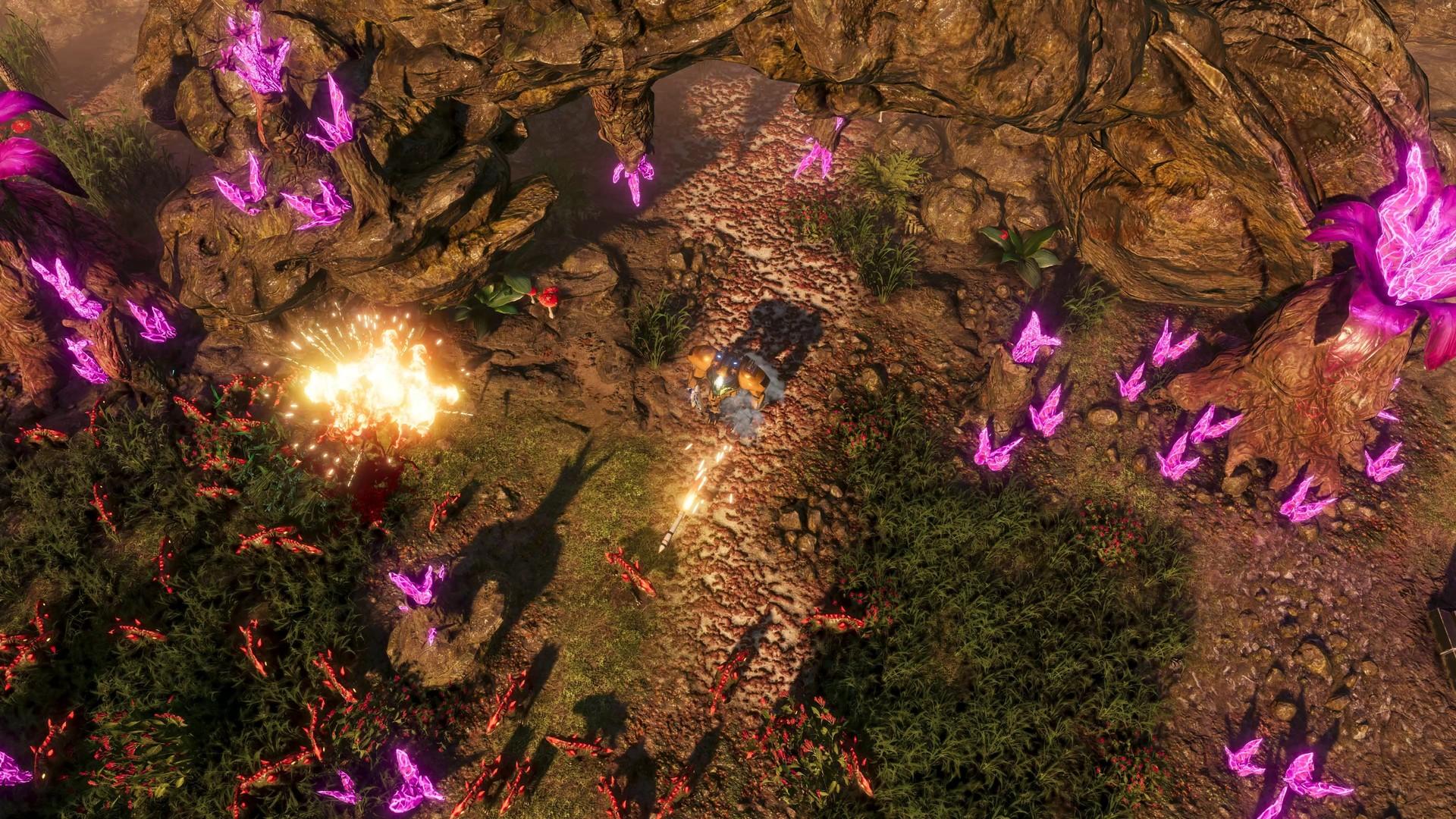 """Novo trailer de jogabilidade para ARPG / Tower Defense Hybrid """"The Riftbreaker"""""""