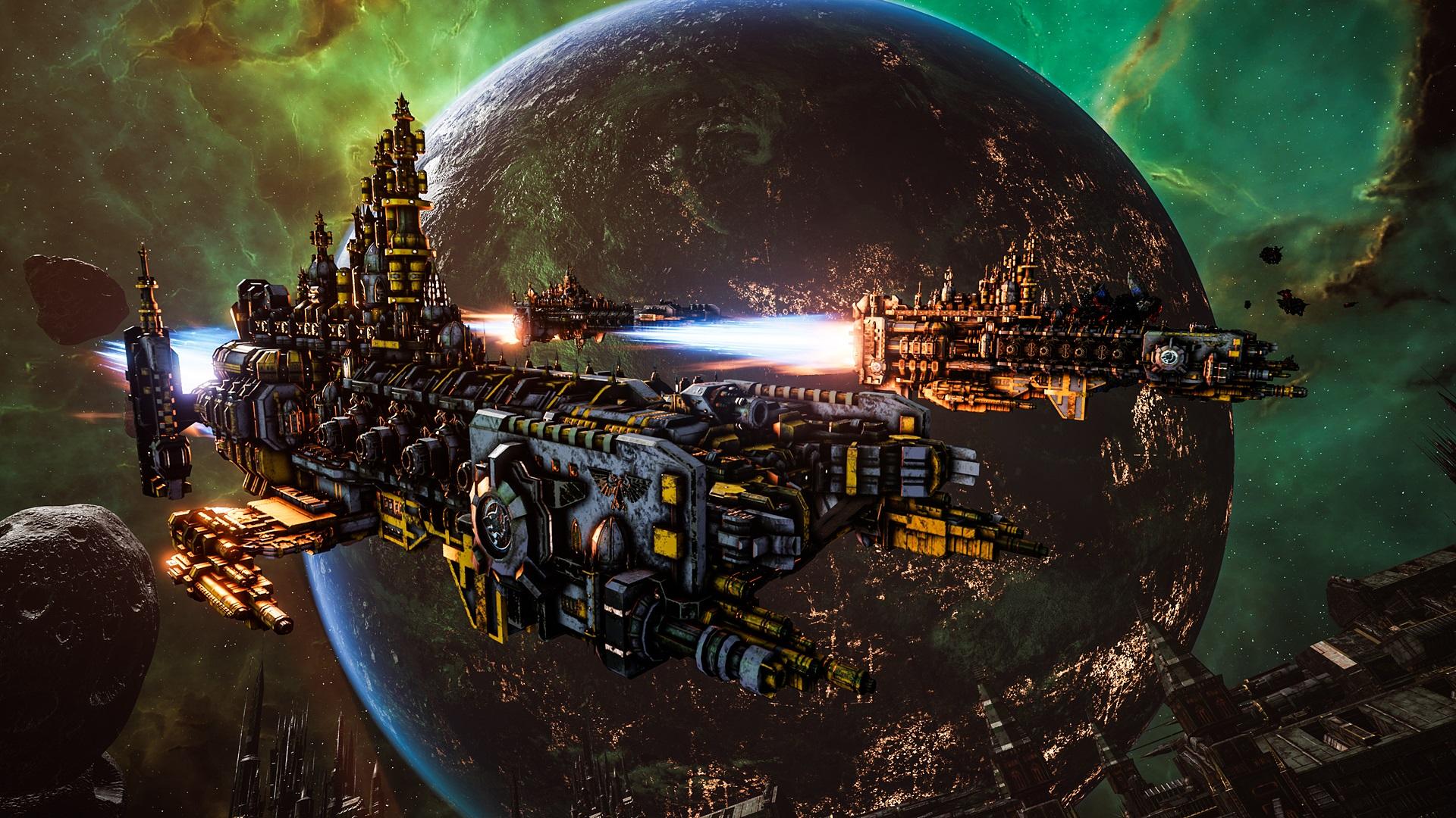 Novo vídeo de visão geral do combate para Battlefleet Gothic: Armada 2