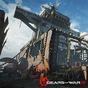 Novos mapas multiplayer de Gears of War 4 serão lançados em 1º de novembro