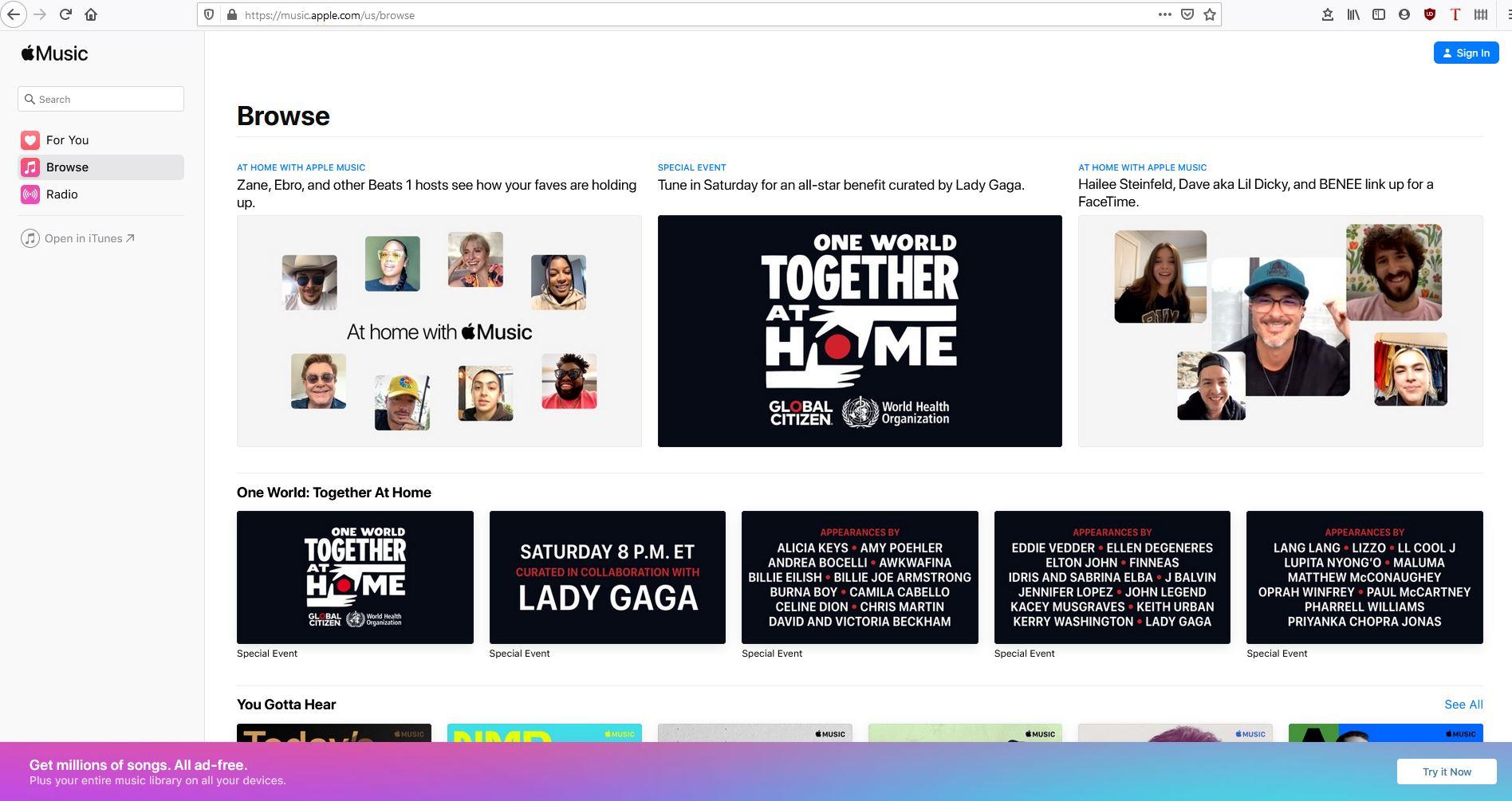 O Apple Music Web Player finalmente sai da versão beta