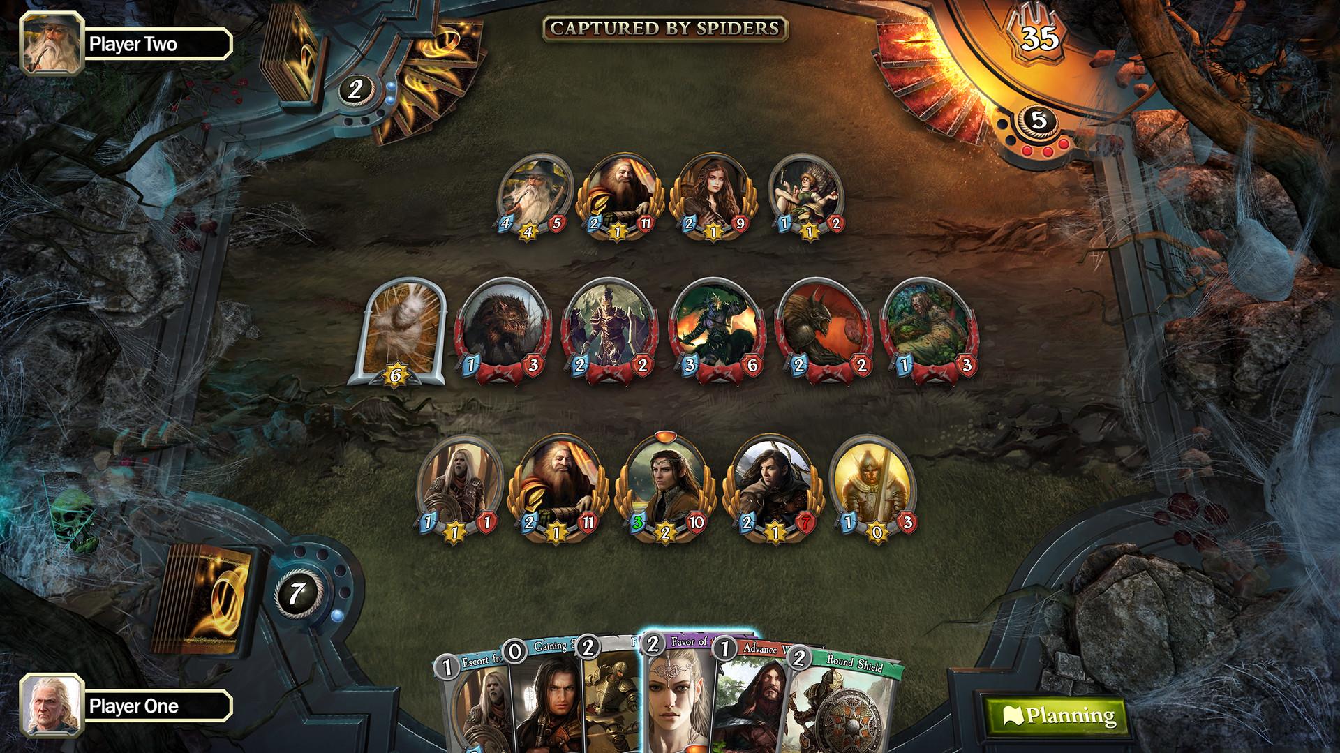 O Senhor dos Anéis: Jogo de Cartas de Aventura É Lançado em 8 de agosto