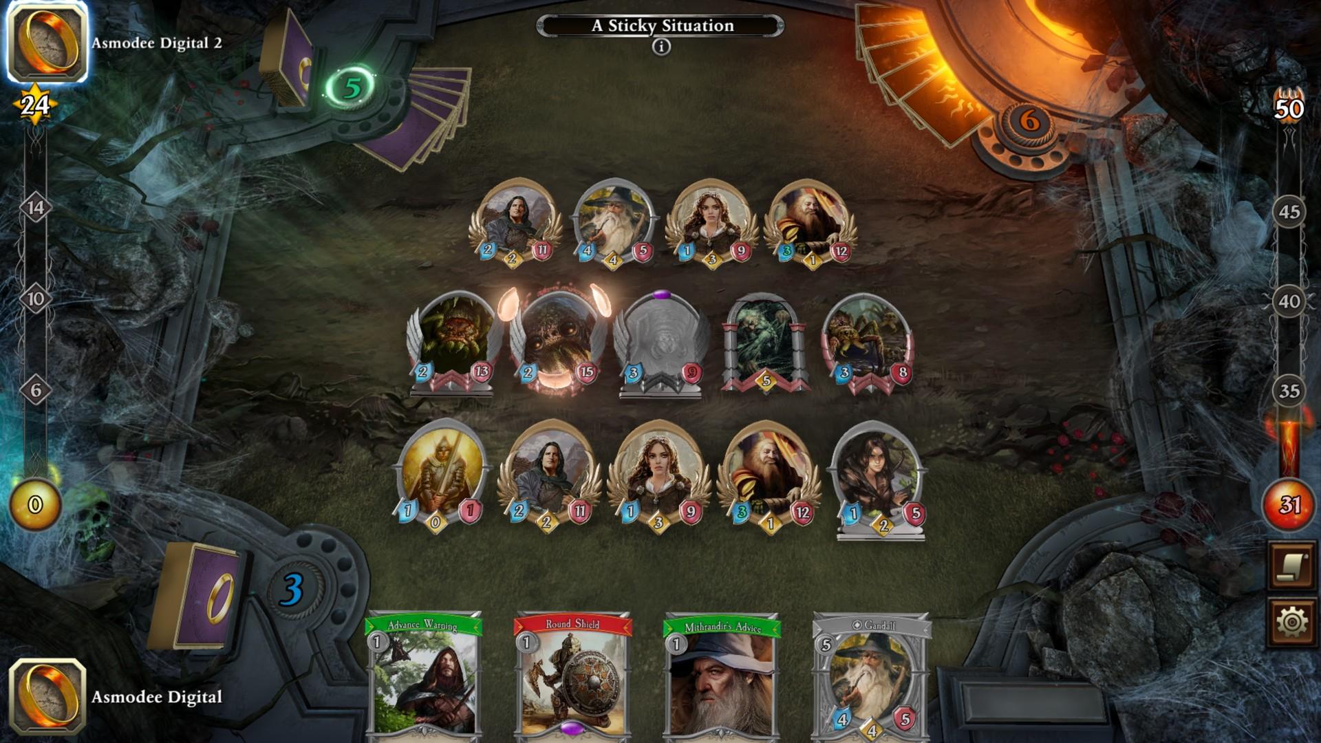 O Senhor dos Anéis: Jogo de Cartas de Aventura Lançamento Completo Atrasado ...