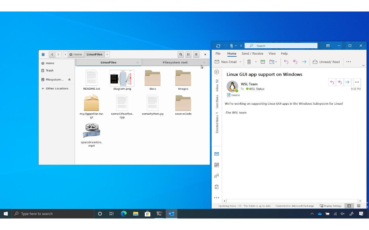 O Windows 10 em breve poderá executar aplicativos da GUI do Linux ...