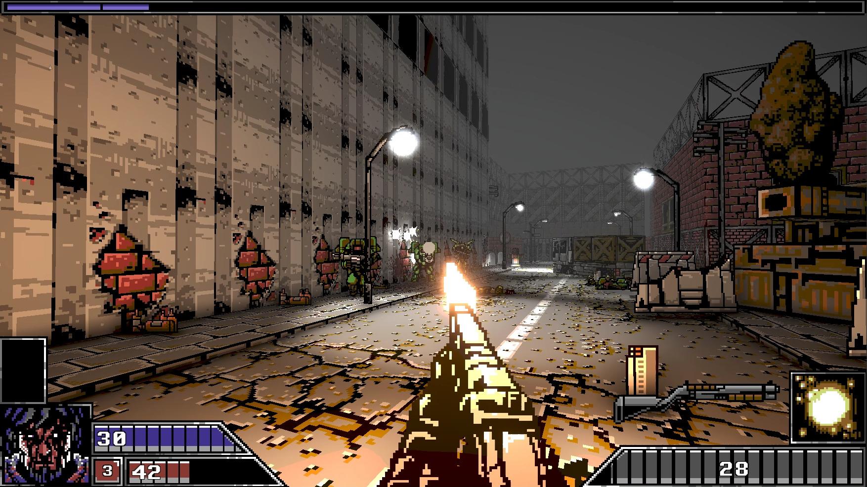 "O atirador inspirado nos anos 90 ""Project Warlock"" agora no GOG"