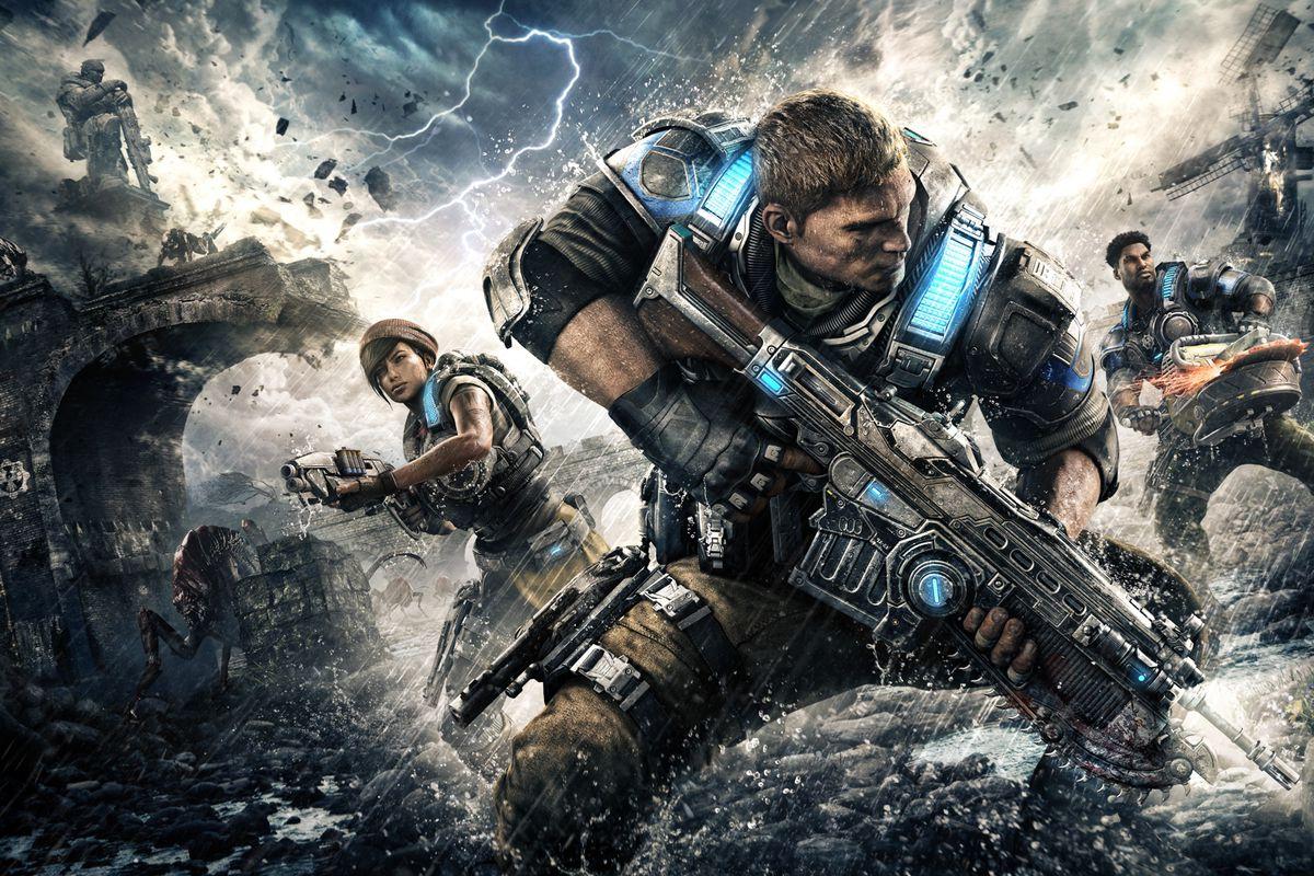 O filme de ação ao vivo Gears of War não é baseado nos jogos, não é ...