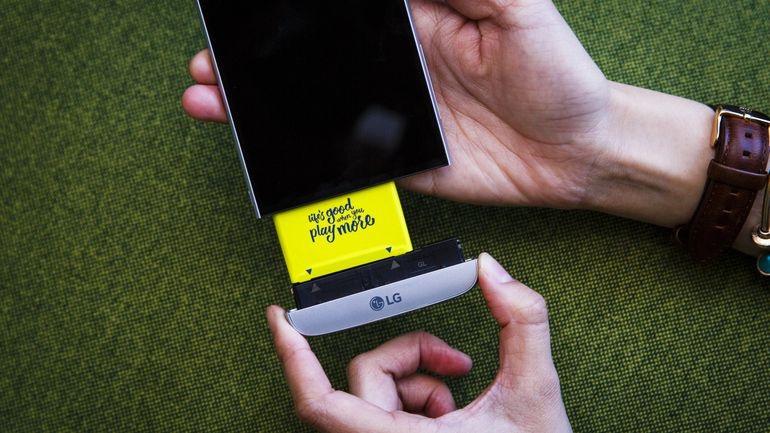 O telefone modular está morto .. para LG