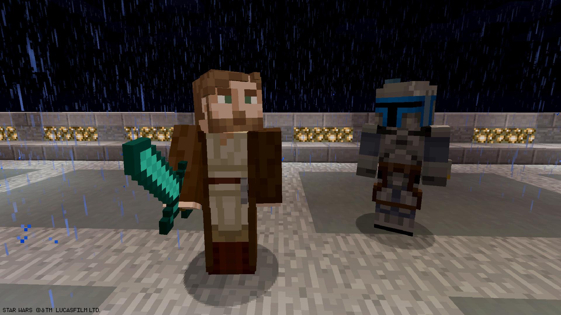 Personagens de Star Wars Prequel chegam ao planeta Minecraft
